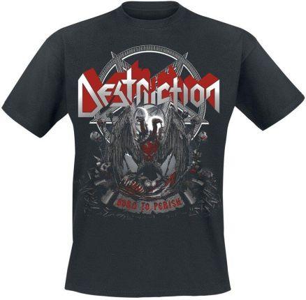 NUCLEAR BLAST KOSZULKA DESTRUCTION - BORN TO PERISH - Ceny i opinie T-shirty i koszulki męskie DJNS