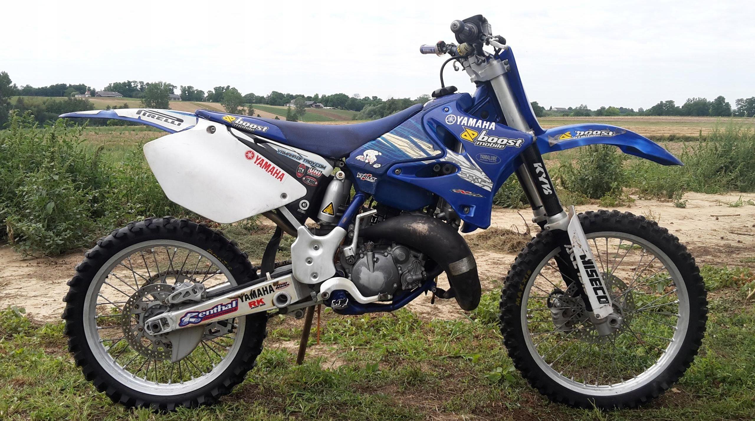 Yamaha Yz 125 42 Konie Opinie I Ceny Na Ceneo Pl