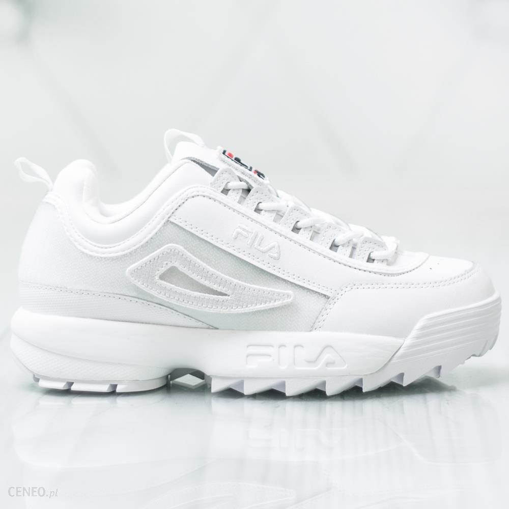 BUTY FILA DiSRUPTOR LOW II sneakersy premium Ceny i opinie Ceneo.pl