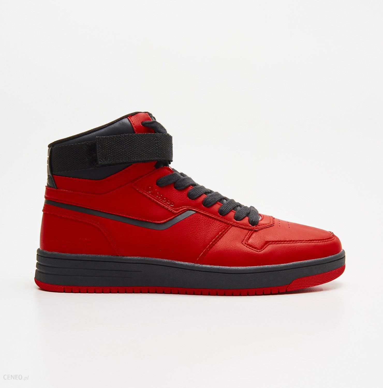 Cropp Wysokie Buty Sportowe Czerwony Ceny I Opinie Ceneo Pl