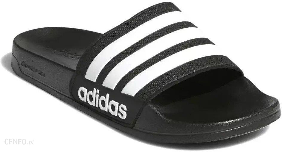 sportowe klapki meskie adidas czarne