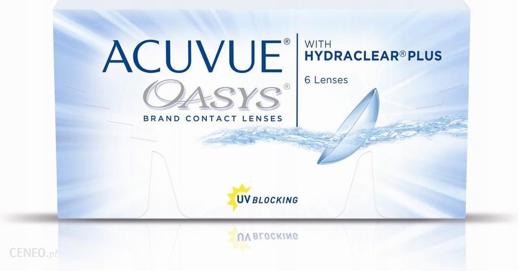 Johnson & Johnson Acuvue Oasys Hydraclear Plus 6 szt