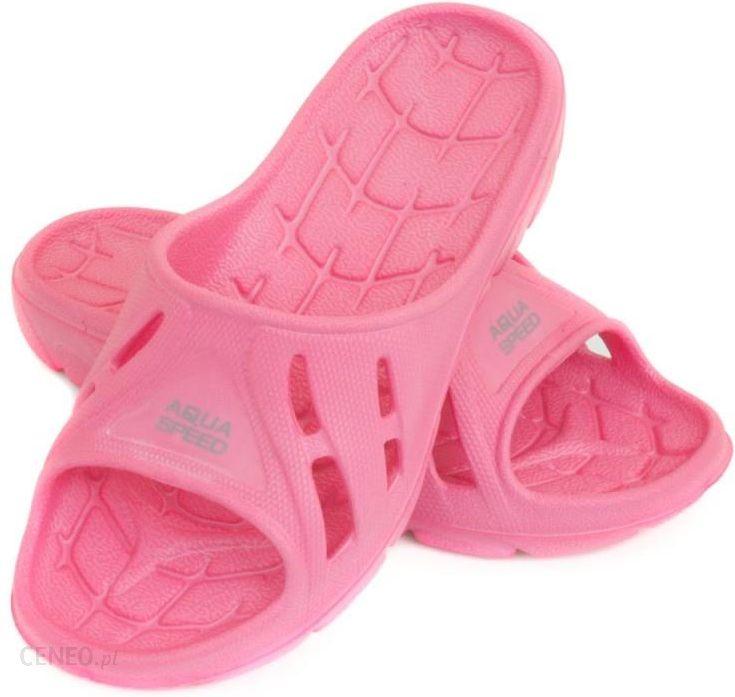 Klapki dziecięce ALABAMA różowe Aqua-Speed, kolor różowy