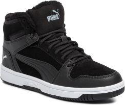 Sneakersy PUMA Rebound Layup Fur SD Jr 370497 01 Puma BlackPuma White Ceny i opinie Ceneo.pl