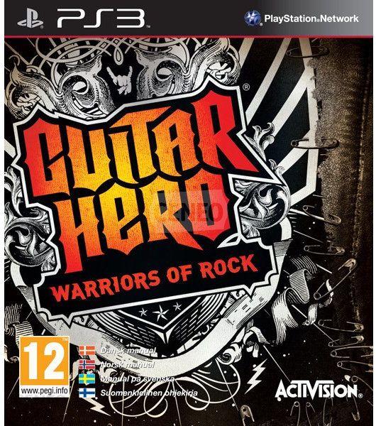 guitar hero warriors of rock gra ps3. Black Bedroom Furniture Sets. Home Design Ideas