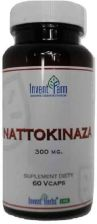 Invent Farm Nattokinaza 300 mg 60 kaps
