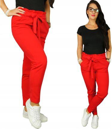 Bawełniane spodnie dresowe Ombre dres M A94 Khaki Ceny i