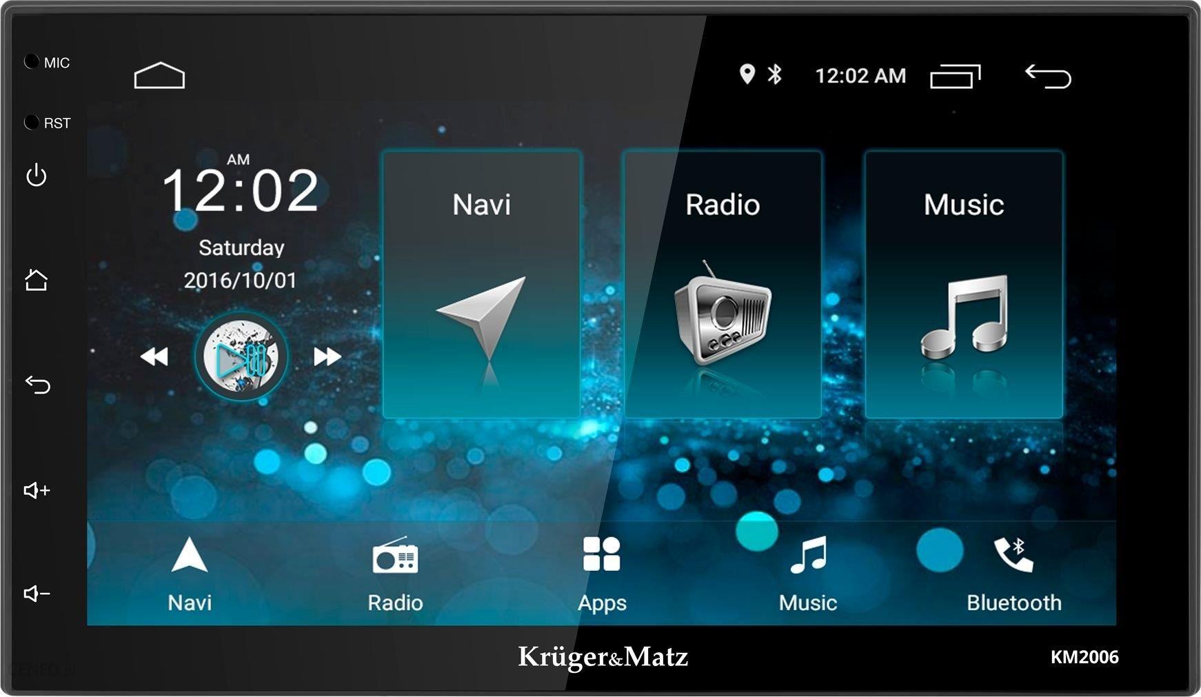 Krüger&Matz 2DIN Android 8.1 (Km2006)