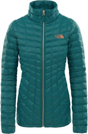 Kurtka The North Face ThermoBall Full Zip Jacket bomber blue Ceny i opinie Ceneo.pl