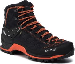 Salewa Ms Mtn Trainer Mid Gtx Gore Tex 63458 0985 Asphalt Fluo Orange