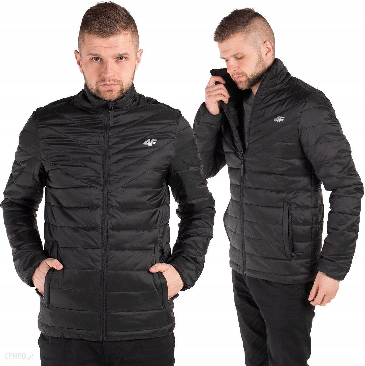 kurtka pikowana czarna 4f