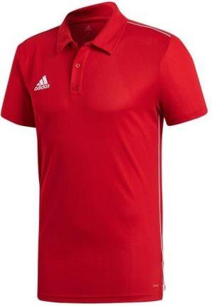 Koszulka męska adidas Core 18 Polo CV3591 - Ceny i opinie T-shirty i koszulki męskie ZMKX