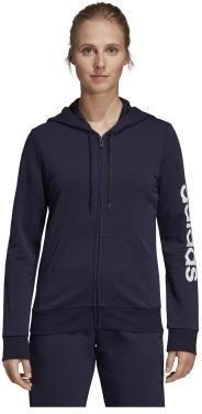 ADIDAS BLUZA W E LIN FZ HD (DP2401) Damskie | cena 159,99 PLN, kolor CZARNY | Bluzy adidas