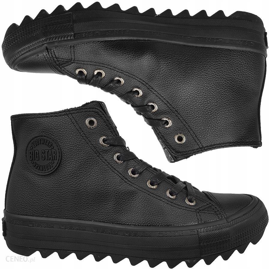 Trampki Big Star damskie czarne buty EE274110 38 Ceny i opinie Ceneo.pl