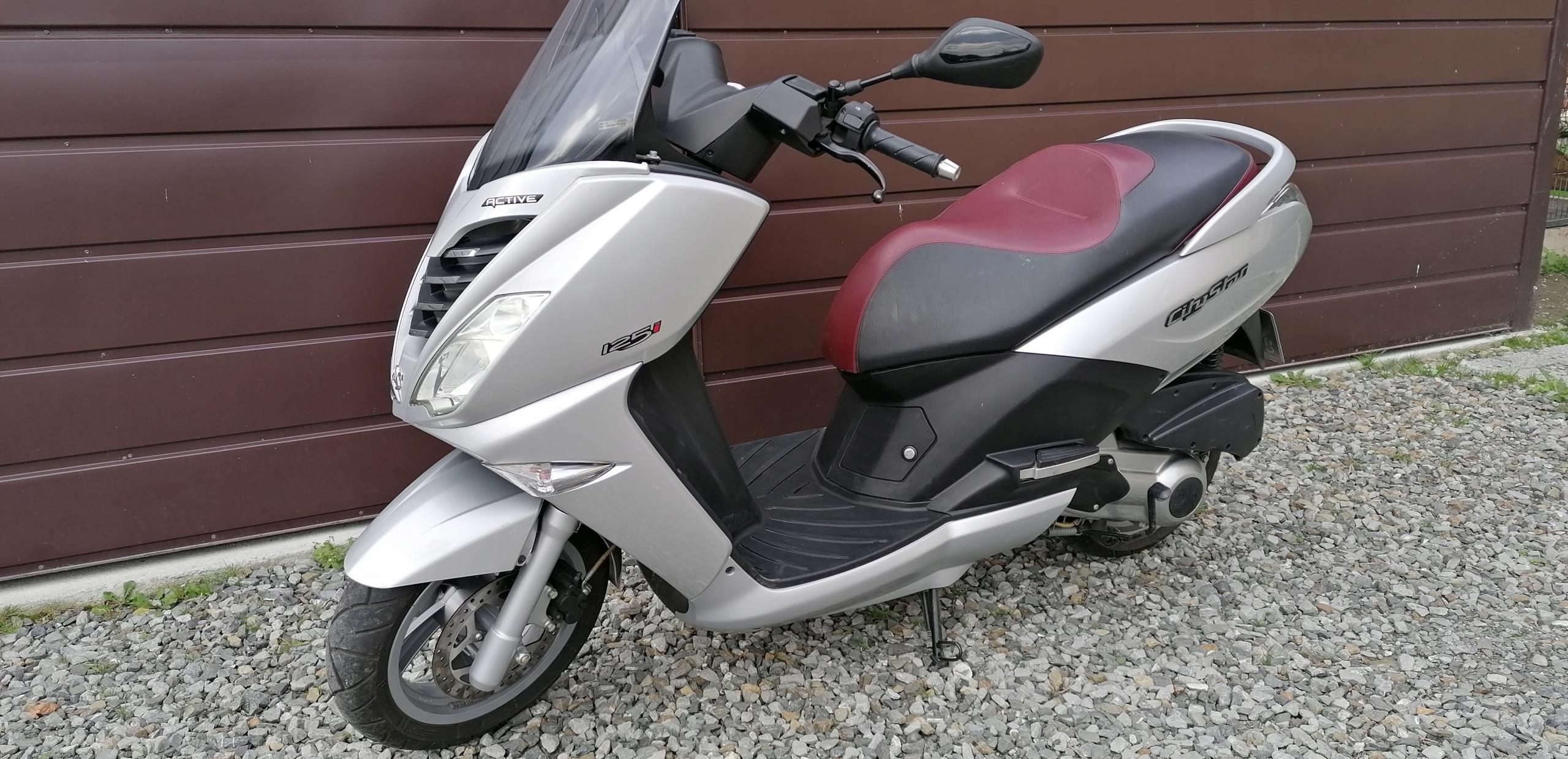 Sprzedam Skuter Peugeot City Star 125cm Kat B Opinie I Ceny Na Ceneo Pl