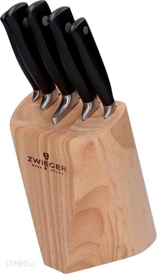 Zwieger Komplet Noży W Drewnianym Bloku Hevea 6el 370398