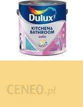 Dulux Kitchen Bathroom Satin Tropikalna Cytryna 25l
