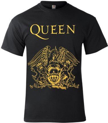KOSZULKA QUEEN GOLD - Ceny i opinie T-shirty i koszulki męskie BUJC