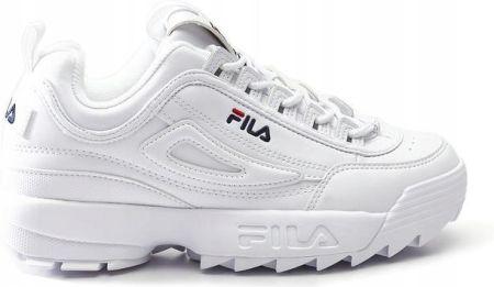 Buty Fila Disruptor low wmn 1010302 1FG (40) białe Ceny i