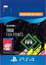 FIFA 20 Ultimate Team - 1050 punktów (PS4)