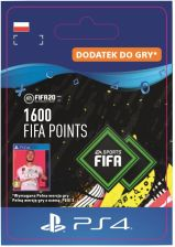 FIFA 20 Ultimate Team - 1600 punktów (PS4)