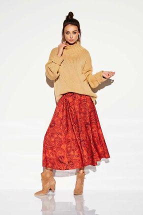 Pull & Bear Jeansowa spódnica na guziki Ceny i opinie
