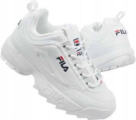 Buty Fila Disruptor II 2 Premium Białe r.44 Ceny i opinie