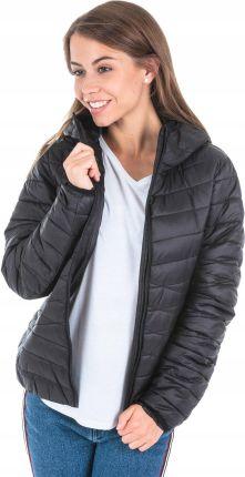 cienka kurtka pikowana z kapturem meska
