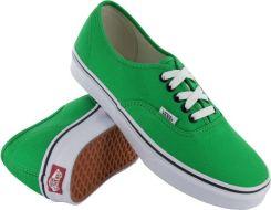 trampki VANS AUTHENTIC BRIGHT GREEN BLACK
