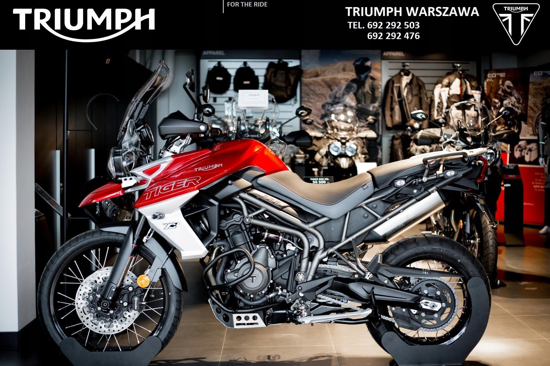 Triumph Tiger 800 Xca Promocja Opinie I Ceny Na Ceneo Pl