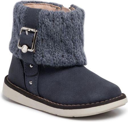 V+J buty zimowe za kostkę dziewczęce 21 różowy Ceny i