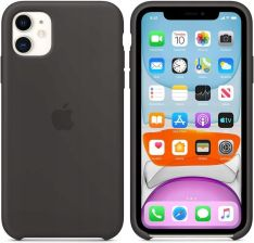 APPLE SILICONE CASE DO IPHONE 11 BLACK