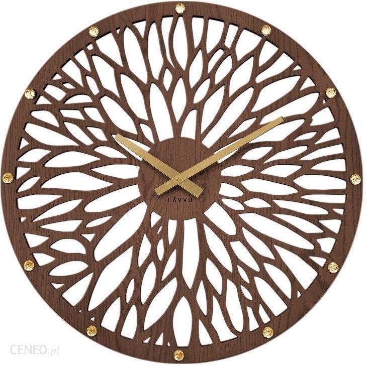 Zegar Scienny Lavvu Lct1180 Z Krysztalkami Srednica 49 Cm Opinie I Atrakcyjne Ceny Na Ceneo Pl