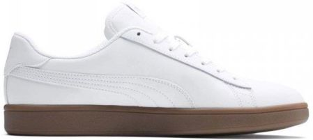 Buty męskie Puma Smash v2 L białe 365215 13 40
