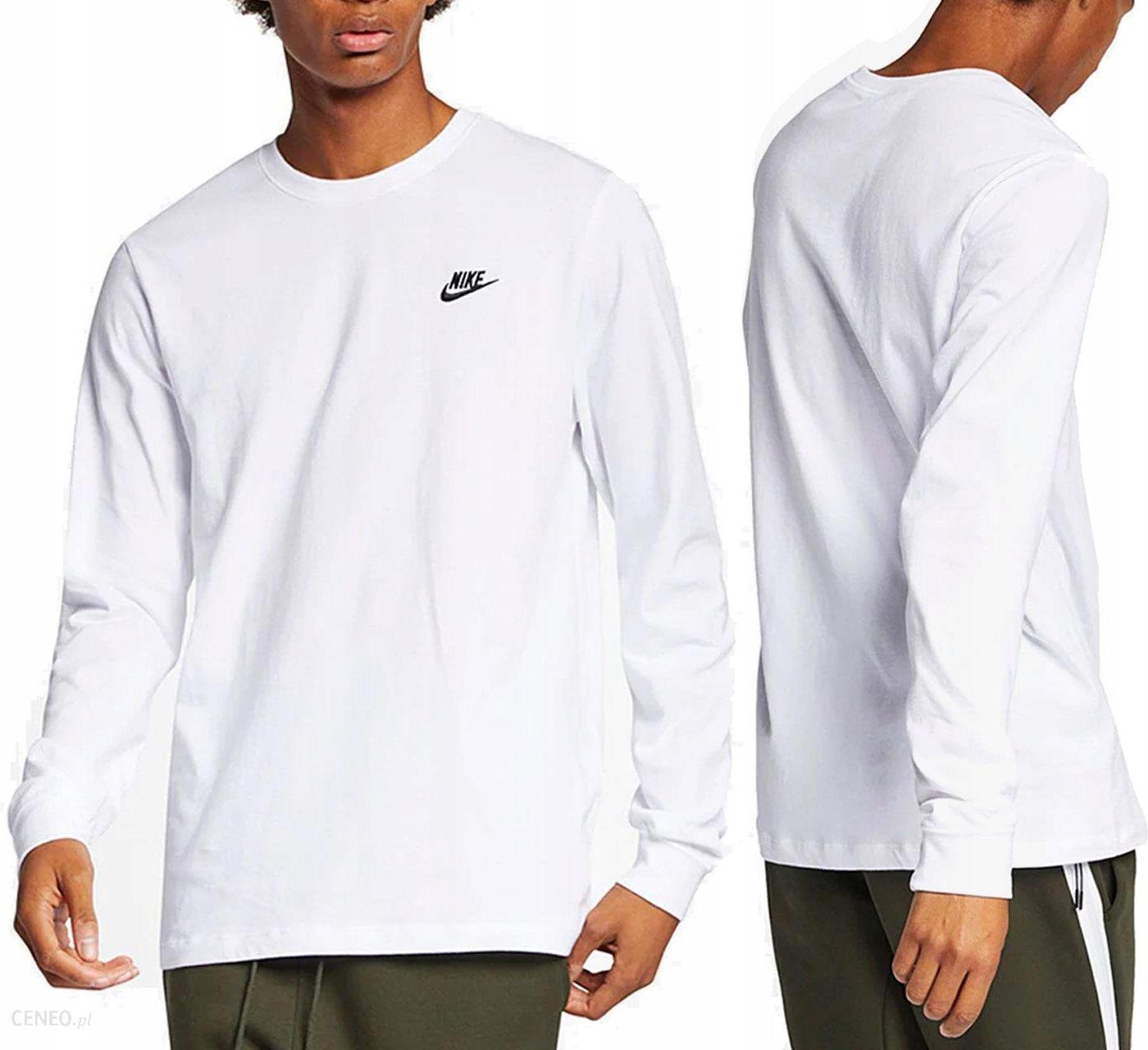 Prosty i elegancki Koszulka Nike Męska Air Force 1 Z Długim