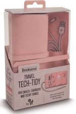 If Bookaroo Travel Tech Tidy Organizer Podróżny Różowy