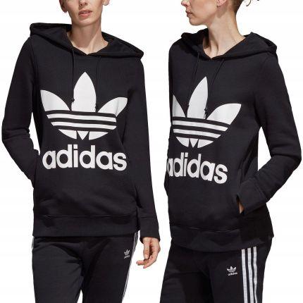 Adidas bluza damska z kapturem czarna Trefoil 38M Ceny i opinie Ceneo.pl
