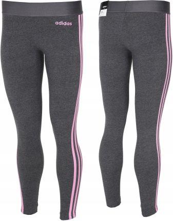 więcej zdjęć najlepiej kochany najnowsza zniżka Legginsy damskie adidas Ess 3 Stripes Tight roz.L - Ceny i ...