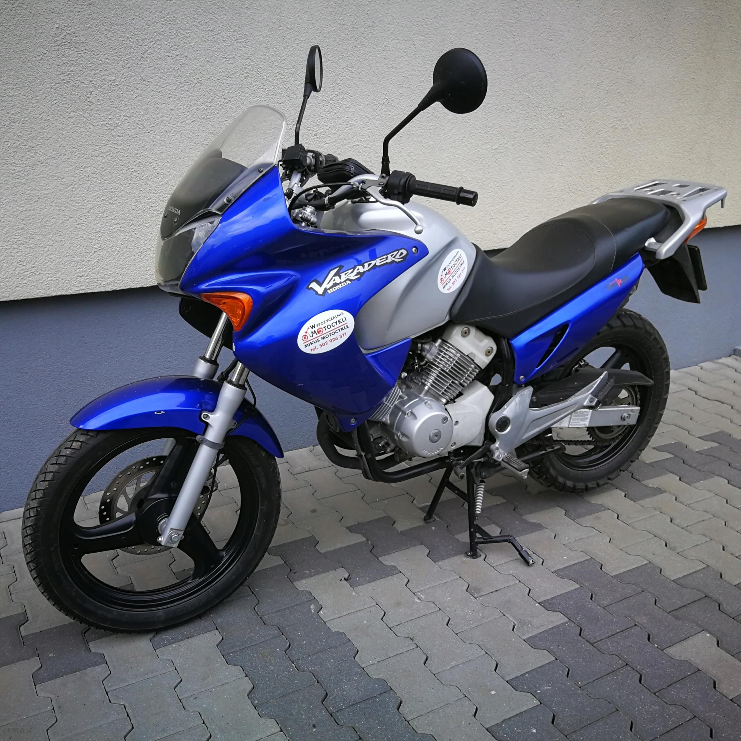 Honda Varadero 125 Opinie I Ceny Na Ceneo Pl