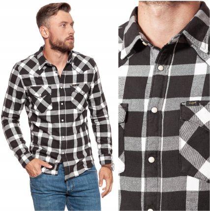 Wrangler Męska Koszula Jeans Krótki Rękaw S Ceny i opinie  QCx2z