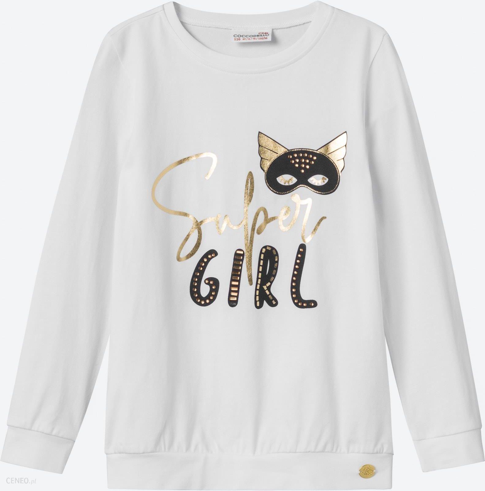 Bluza dla dziewczynki Coccodrillo WONDER GIRL Ceny i