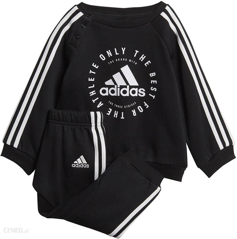 Dres dla dzieci adidas I 3 Stripes Jogger FL niebiesko szary