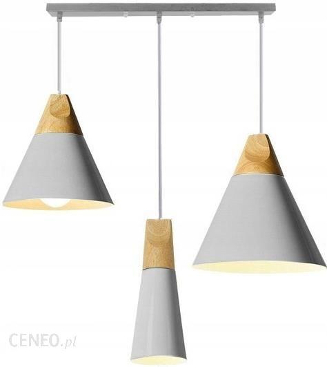 Lampa Wisząca Drewno Loft Industrial Scandi 3 Cp Opinie i atrakcyjne ceny na Ceneo.pl