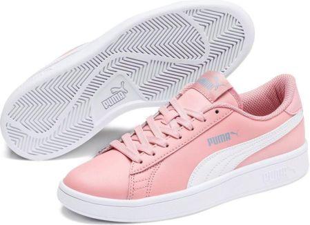 Puma tenisówki dziewczęce Suede Platform Dots Jr Elderberry
