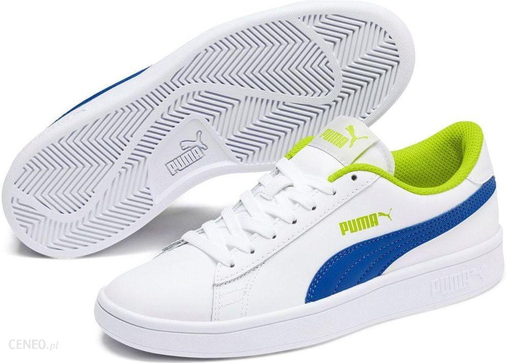 Puma Buty dziecięce Smash V2 L Jr Buty chłopięce białe w