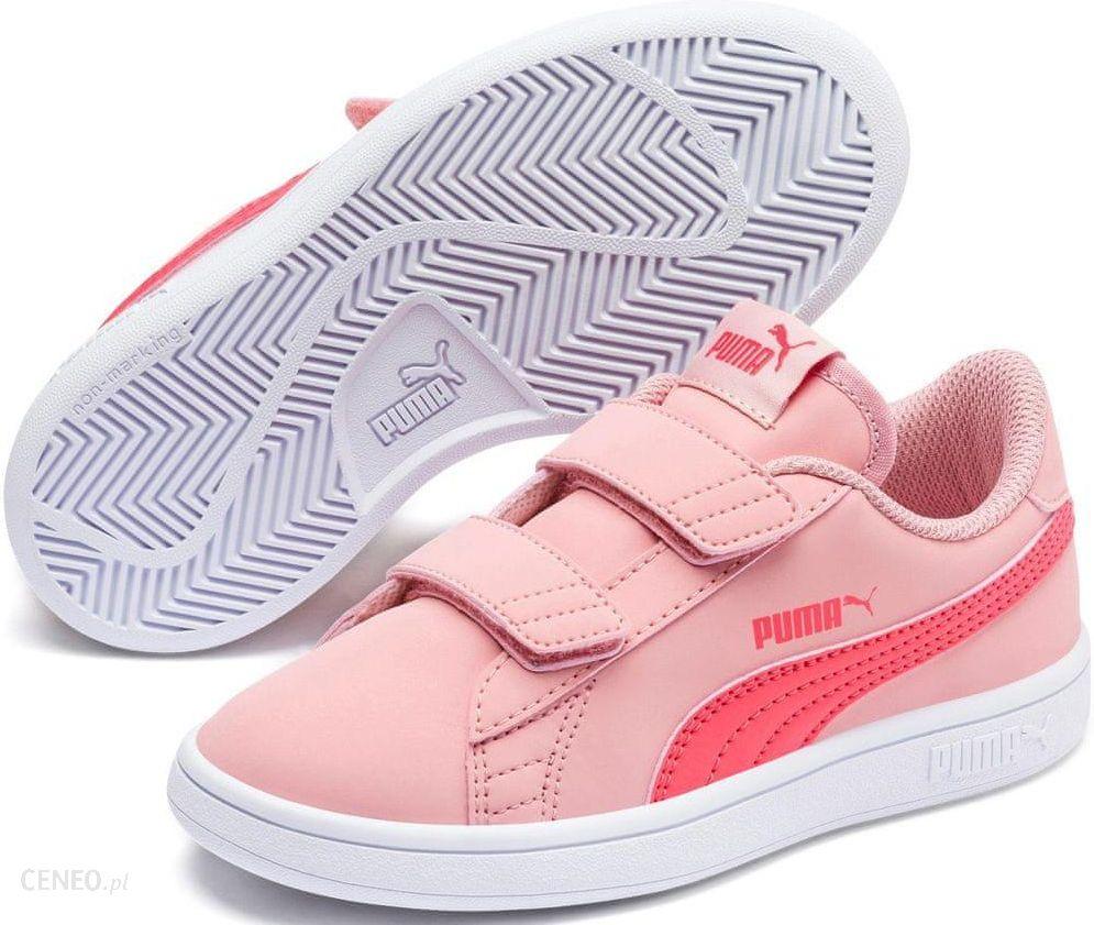 Puma buty dzieci?ce Smash v2 Buck V PS Bridal Rose Calypso Coral White 28 Ceny i opinie Ceneo.pl