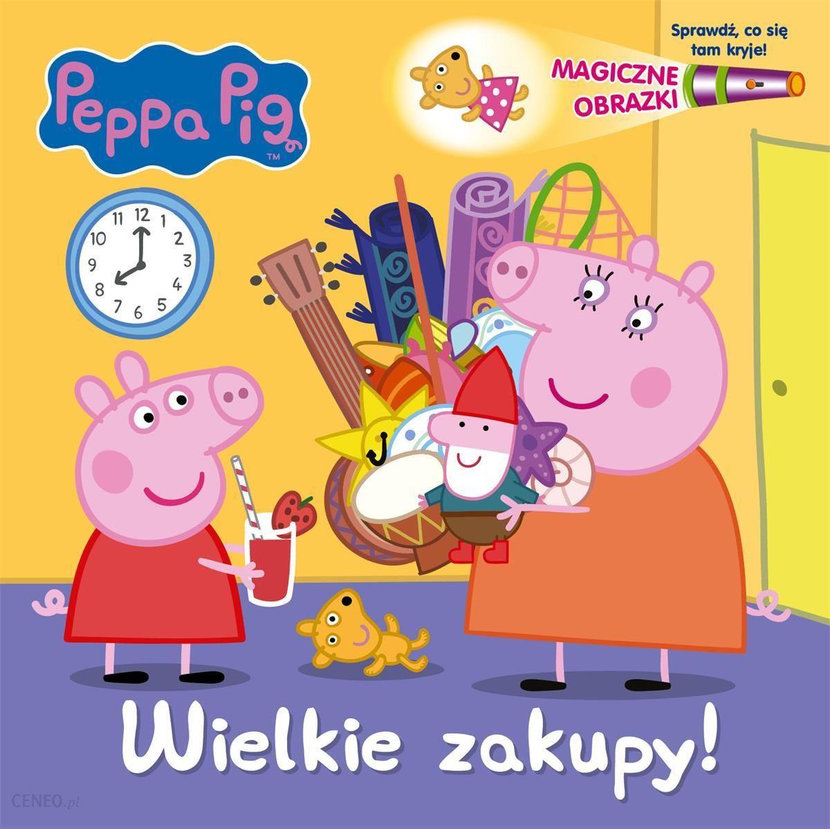 Peppa Pig Magiczne Obrazki Wielkie Zakupy Ceny I Opinie Ceneo Pl