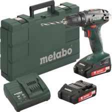 Metabo Wiertarka Akumulatorowa Bs 18 Top Seller 2x 1,3 Ah, Kufer