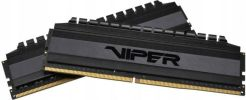 Patriot 16GB 3600MHz Viper 4 Blackout CL17 2x8GB (PVB416G360C7K)