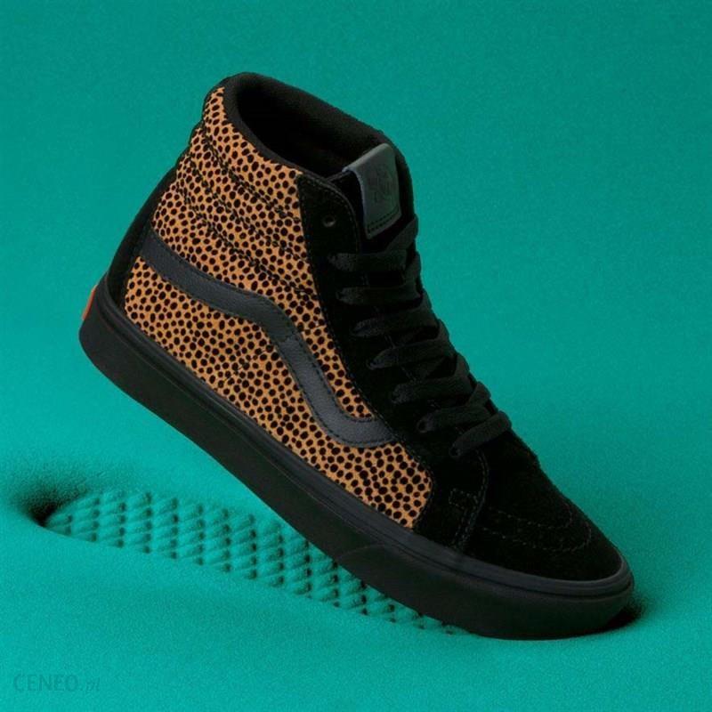 Obuwie dziecięce VANS ATWOOD HI (Cheetah Suede) Black Ceny